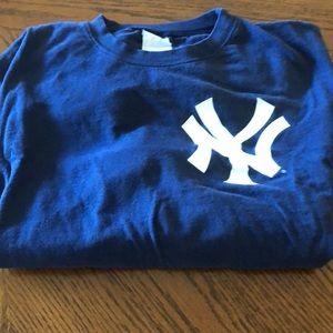 Vintage New York Jeters tee shirt
